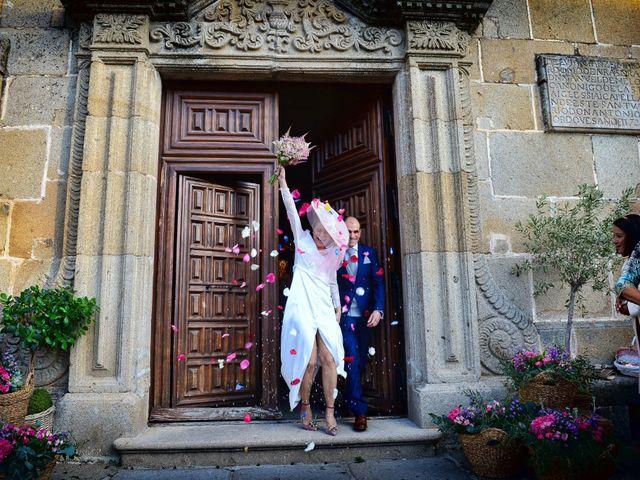 La boda de M. Fe y David en Arroyomolinos De La Vera, Cáceres 14