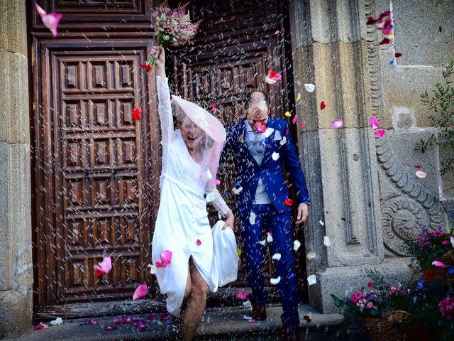 La boda de M. Fe y David en Arroyomolinos De La Vera, Cáceres 15