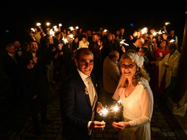 La boda de M. Fe y David en Arroyomolinos De La Vera, Cáceres 29