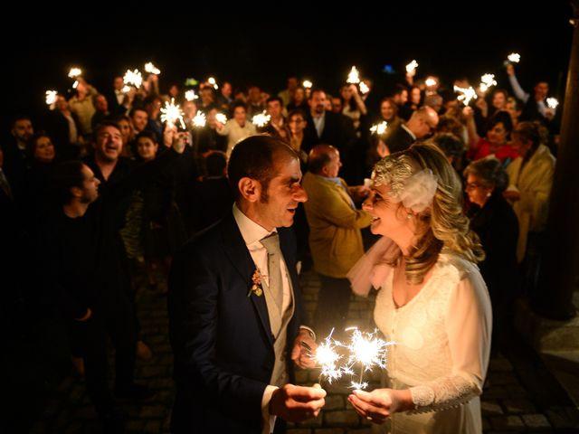 La boda de M. Fe y David en Arroyomolinos De La Vera, Cáceres 30