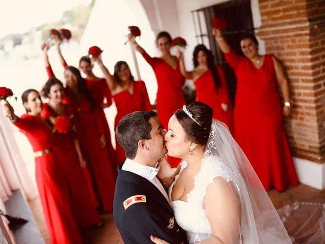 La boda de Raúl  y Rocío  en Calañas, Huelva 1