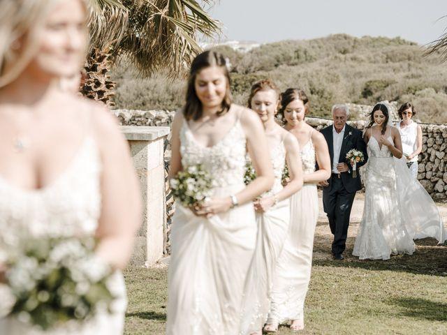La boda de Jozef y Lauren en Ciutadella De Menorca, Islas Baleares 30