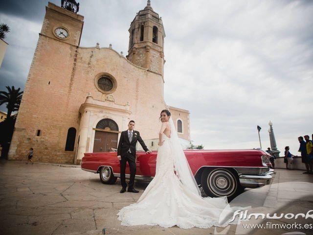 La boda de Rubén  y Emma   en Sitges, Barcelona 1