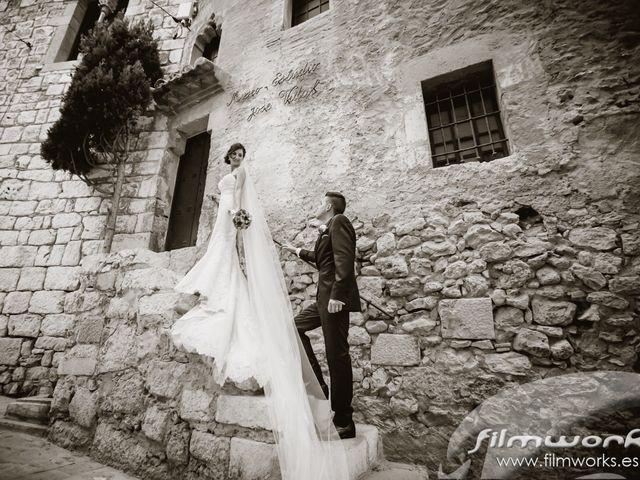 La boda de Rubén  y Emma   en Sitges, Barcelona 8