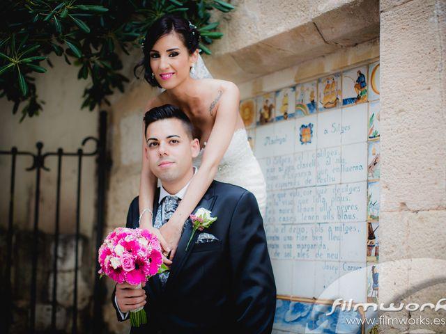 La boda de Rubén  y Emma   en Sitges, Barcelona 13