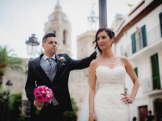 La boda de Rubén  y Emma   en Sitges, Barcelona 17