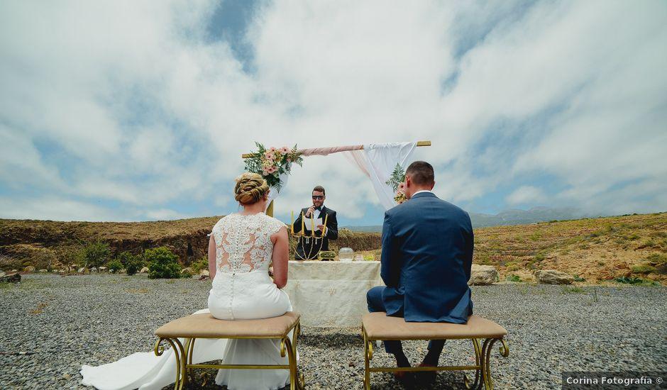La boda de Óscar y Yure en Arico, Santa Cruz de Tenerife