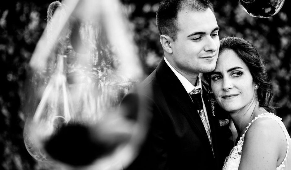 La boda de David y Izaskun en Quejana, Álava