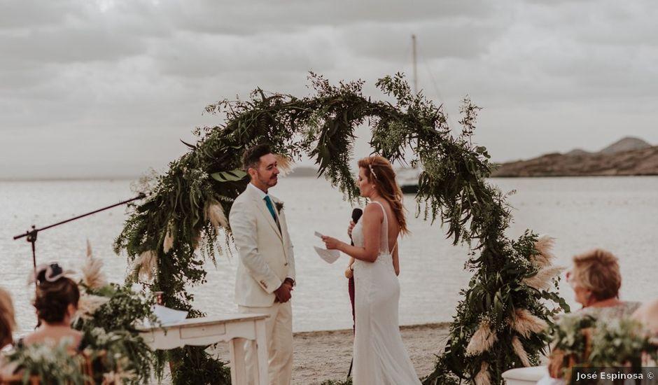 La boda de Sergio y Carmen en La Manga Del Mar Menor, Murcia