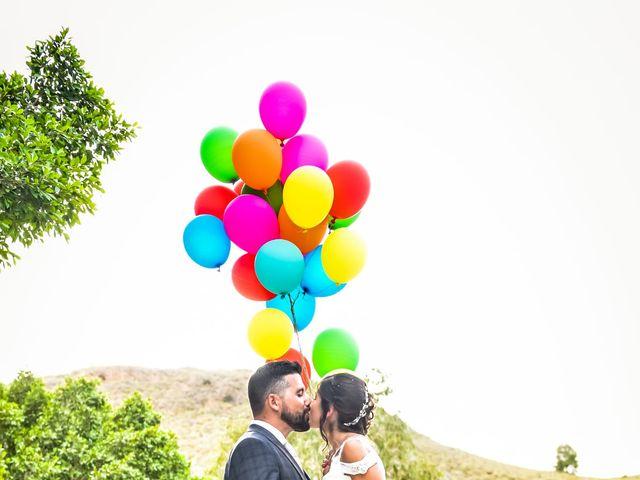 La boda de Noelia y Mariano en Mazarron, Murcia 1