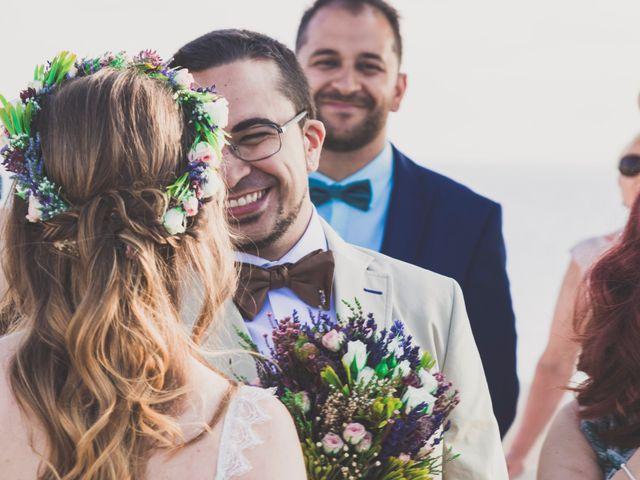 La boda de Jairo y Gabriela en Tabarca, Alicante 1