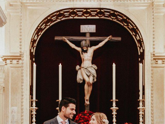 La boda de Eduardo y Rosa en Sanlucar La Mayor, Sevilla 34