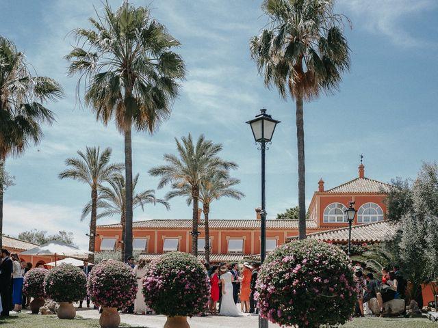 La boda de Eduardo y Rosa en Sanlucar La Mayor, Sevilla 39