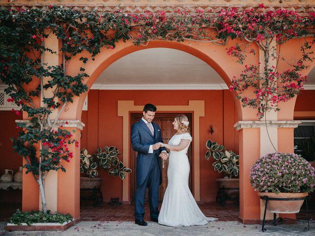La boda de Eduardo y Rosa en Sanlucar La Mayor, Sevilla 57
