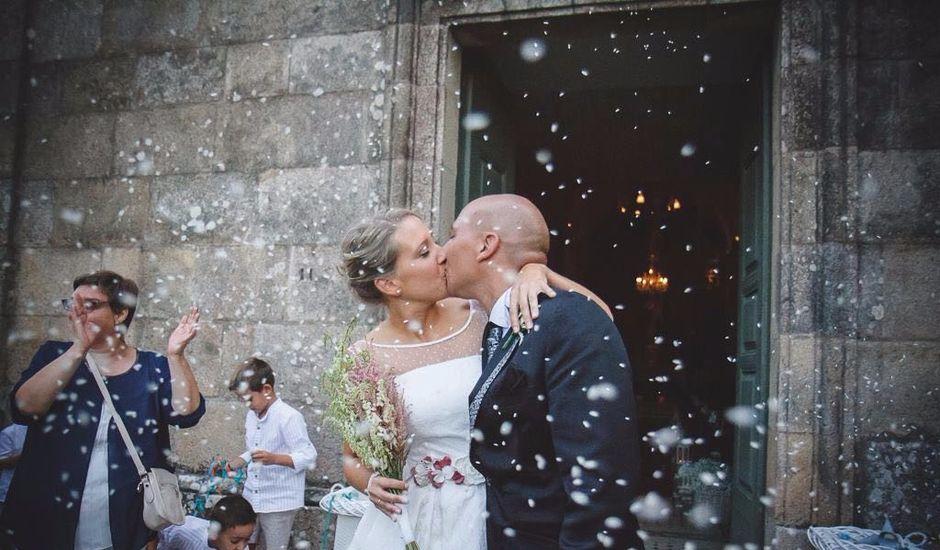 La boda de Diego y Cristina en Santiago De Compostela, A Coruña