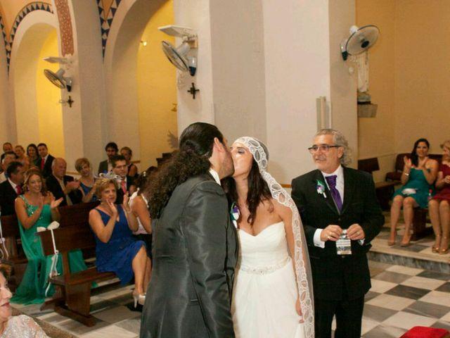 La boda de José y Davinia en Almería, Almería 21