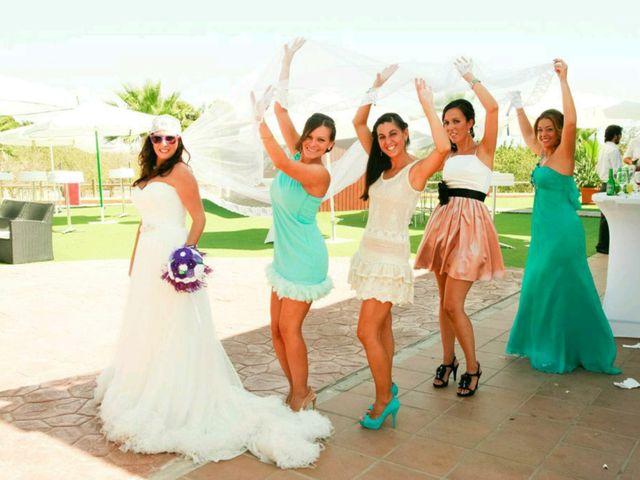 La boda de José y Davinia en Almería, Almería 43