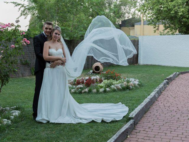 La boda de Rebeca y César