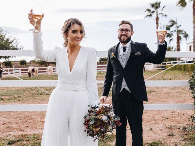 La boda de Alberto y Raquel en Naquera, Valencia 47