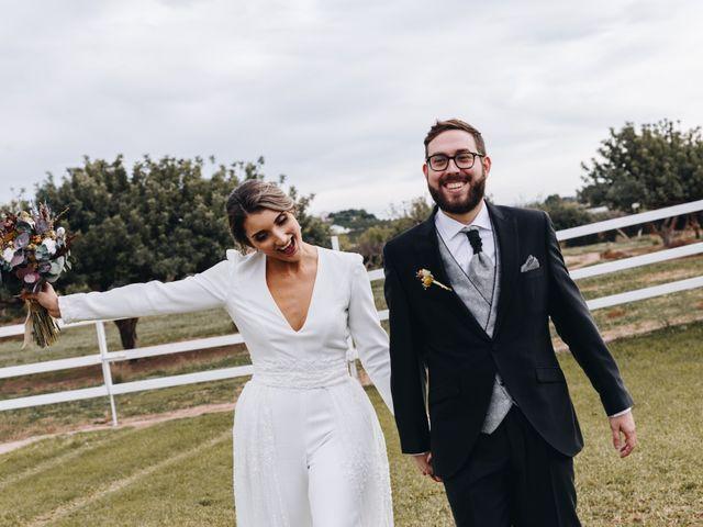 La boda de Alberto y Raquel en Naquera, Valencia 52