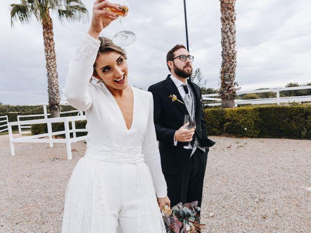 La boda de Alberto y Raquel en Naquera, Valencia 53