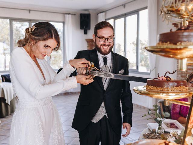 La boda de Alberto y Raquel en Naquera, Valencia 57
