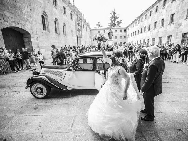 La boda de Guille y Mavi en Topas, Salamanca 14