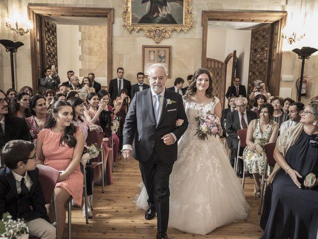 La boda de Guille y Mavi en Topas, Salamanca 15