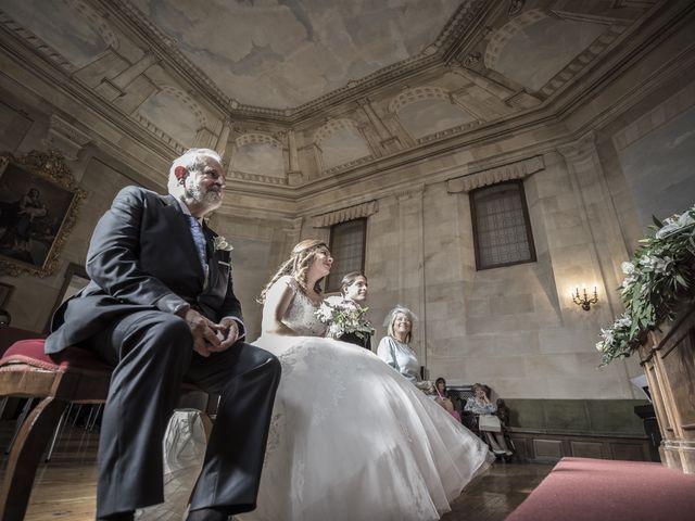 La boda de Guille y Mavi en Topas, Salamanca 16