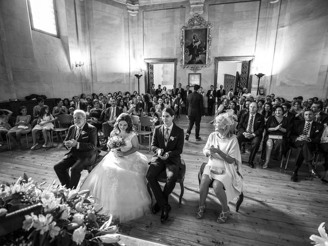 La boda de Guille y Mavi en Topas, Salamanca 17