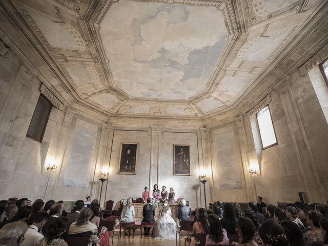 La boda de Guille y Mavi en Topas, Salamanca 18