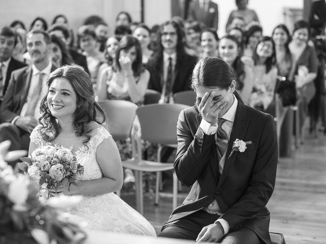 La boda de Guille y Mavi en Topas, Salamanca 19