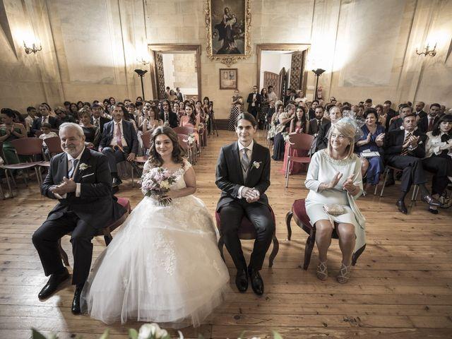 La boda de Guille y Mavi en Topas, Salamanca 22