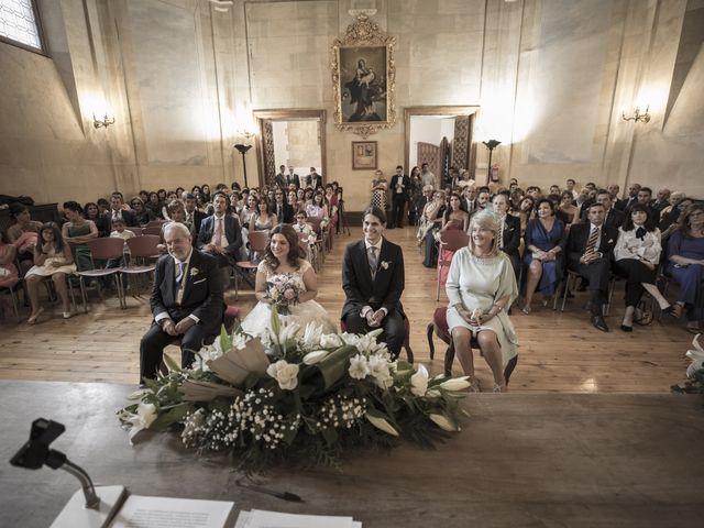 La boda de Guille y Mavi en Topas, Salamanca 23