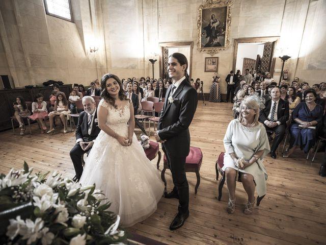 La boda de Guille y Mavi en Topas, Salamanca 27