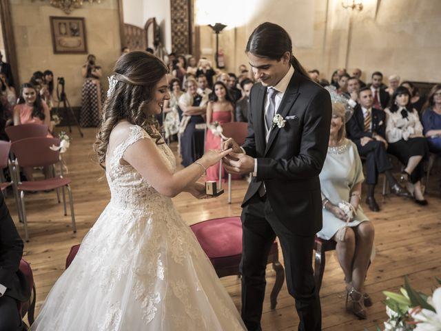 La boda de Guille y Mavi en Topas, Salamanca 28
