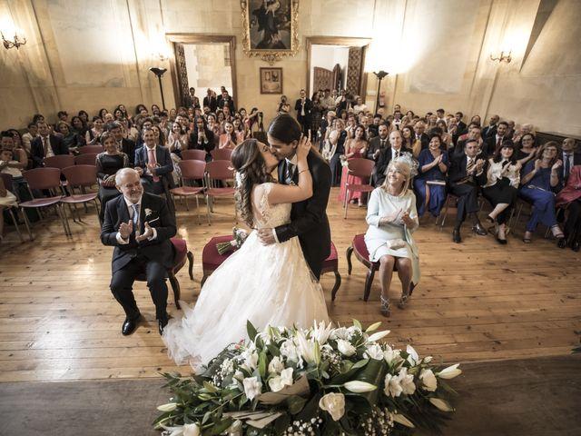 La boda de Guille y Mavi en Topas, Salamanca 29