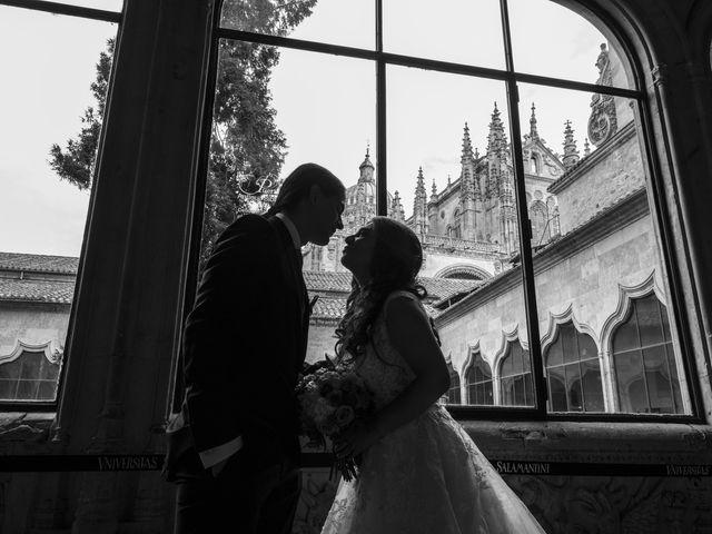 La boda de Guille y Mavi en Topas, Salamanca 30