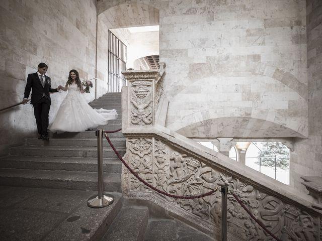 La boda de Guille y Mavi en Topas, Salamanca 31