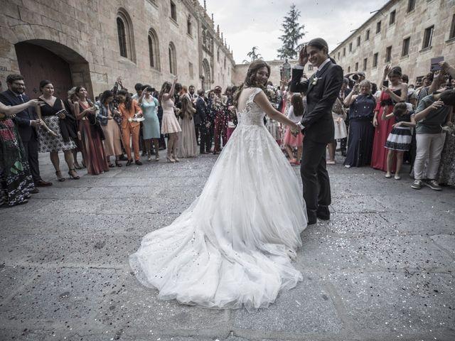 La boda de Guille y Mavi en Topas, Salamanca 32