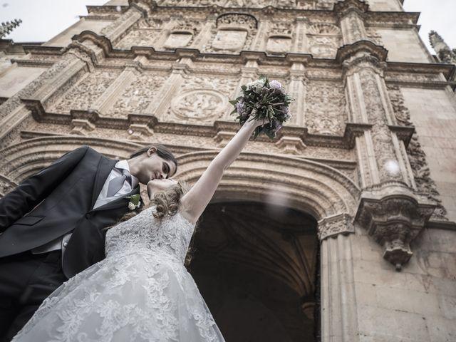 La boda de Guille y Mavi en Topas, Salamanca 33