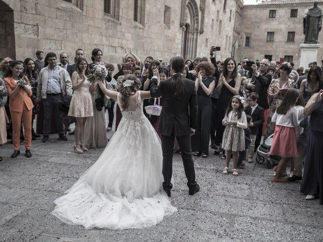 La boda de Guille y Mavi en Topas, Salamanca 34