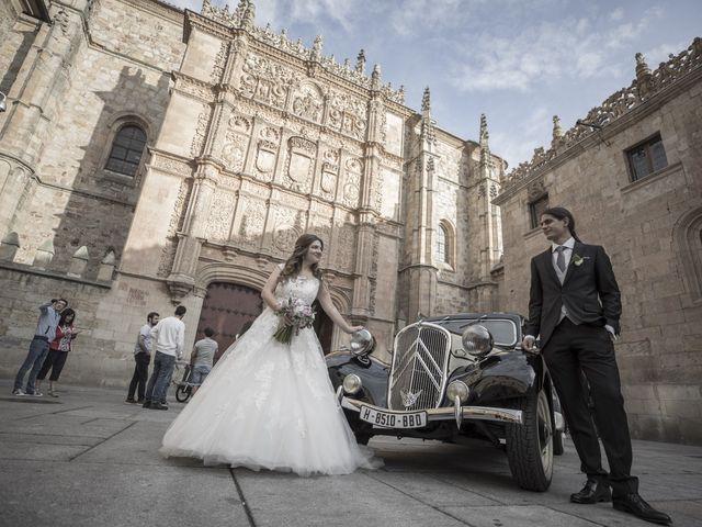 La boda de Guille y Mavi en Topas, Salamanca 35
