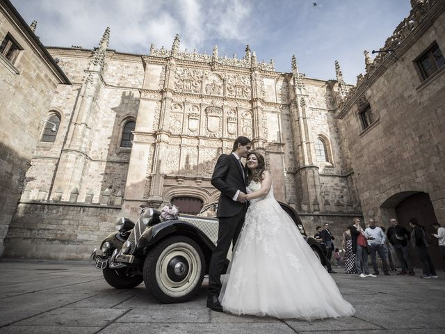 La boda de Guille y Mavi en Topas, Salamanca 36