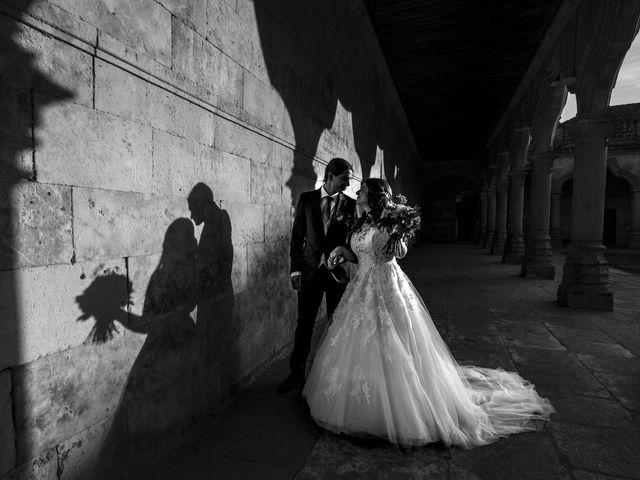 La boda de Guille y Mavi en Topas, Salamanca 38