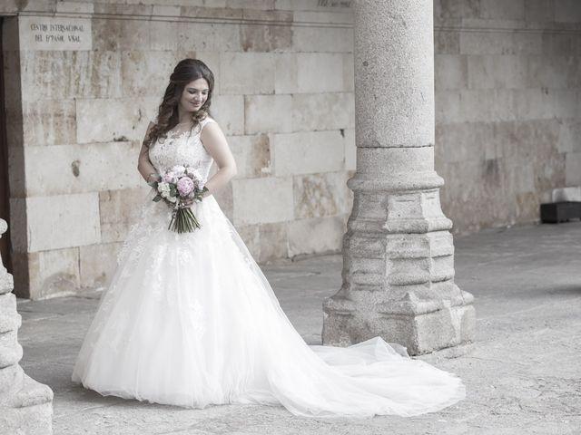 La boda de Guille y Mavi en Topas, Salamanca 39