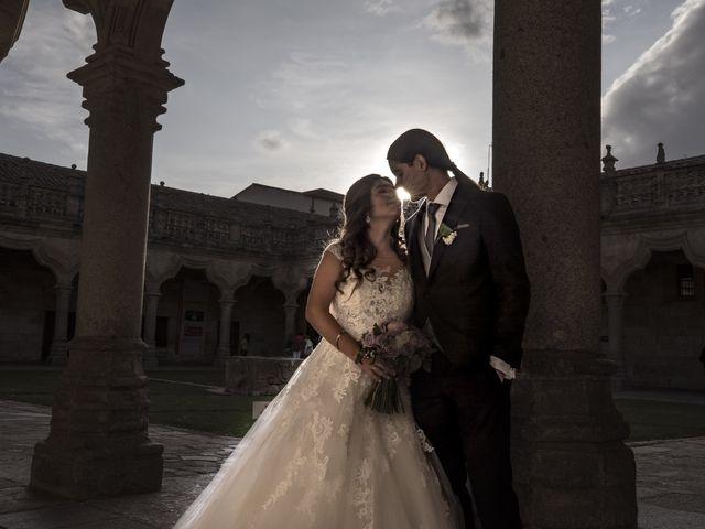La boda de Guille y Mavi en Topas, Salamanca 41