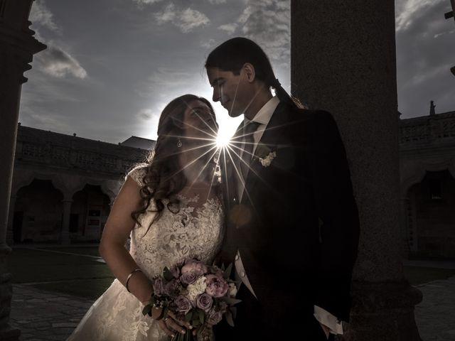 La boda de Guille y Mavi en Topas, Salamanca 42