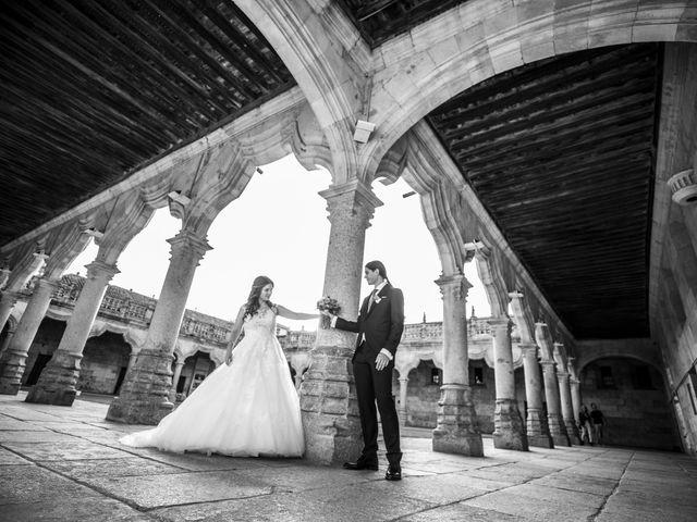 La boda de Guille y Mavi en Topas, Salamanca 43