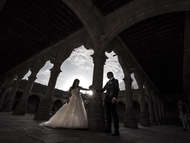 La boda de Guille y Mavi en Topas, Salamanca 44